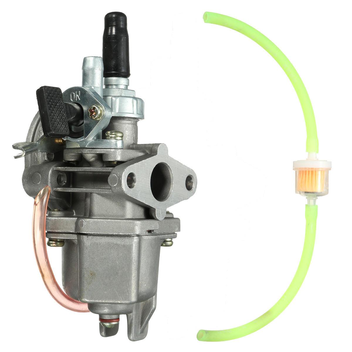 hight resolution of 47cc 49cc carburetor carb quad atv pocket bike petrol pipe fuel filter mini moto