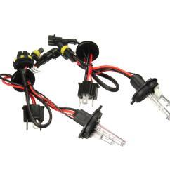 pair h4 h4 2 35w 55w hi lo dual beam car xenon headlight hid [ 1200 x 1200 Pixel ]