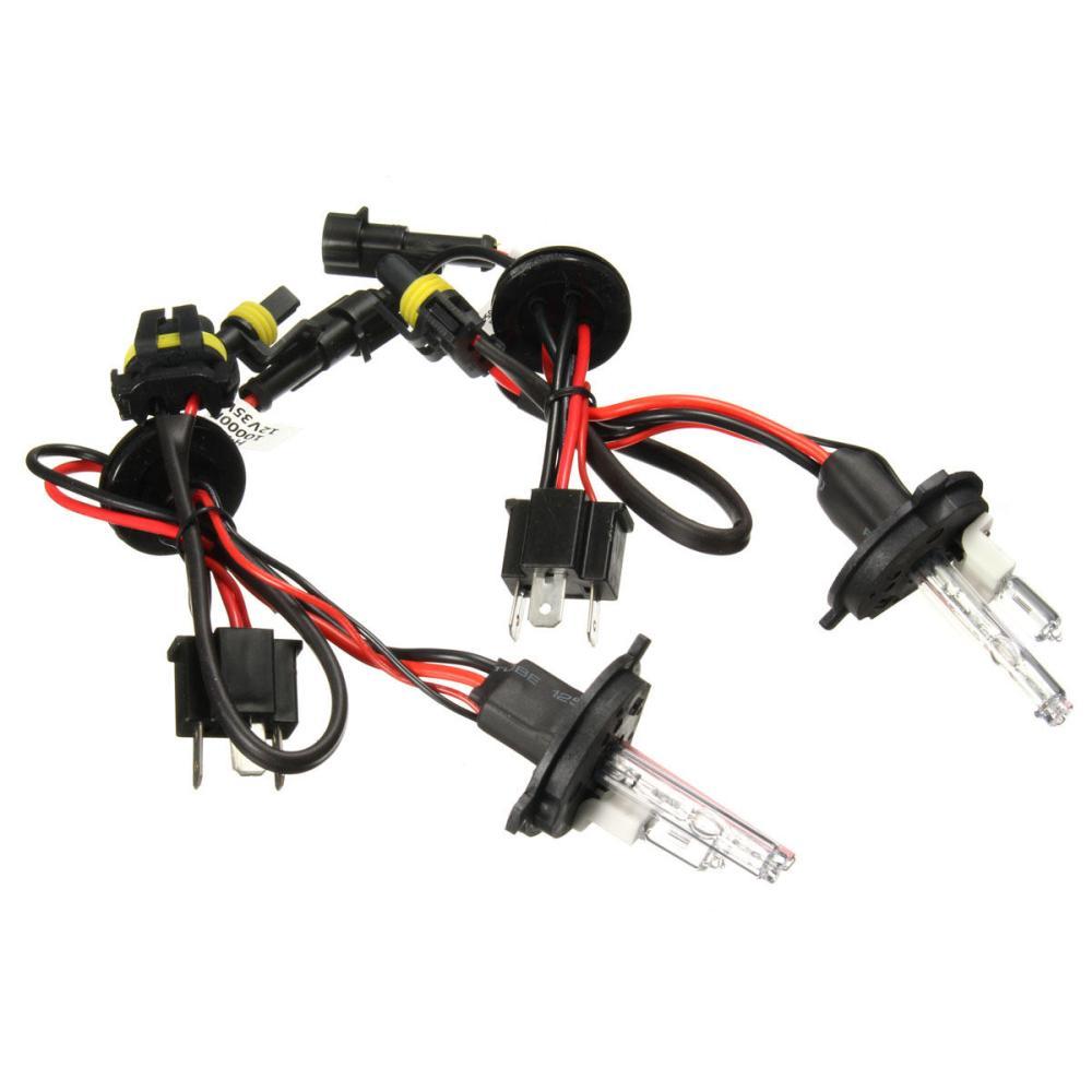 medium resolution of pair h4 h4 2 35w 55w hi lo dual beam car xenon headlight hid