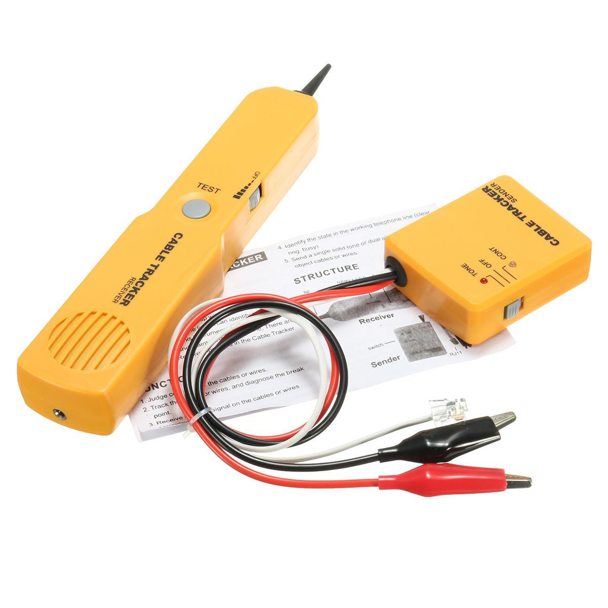 hight resolution of telephone line finder rj11 wire tracker network break short circuit tester cod