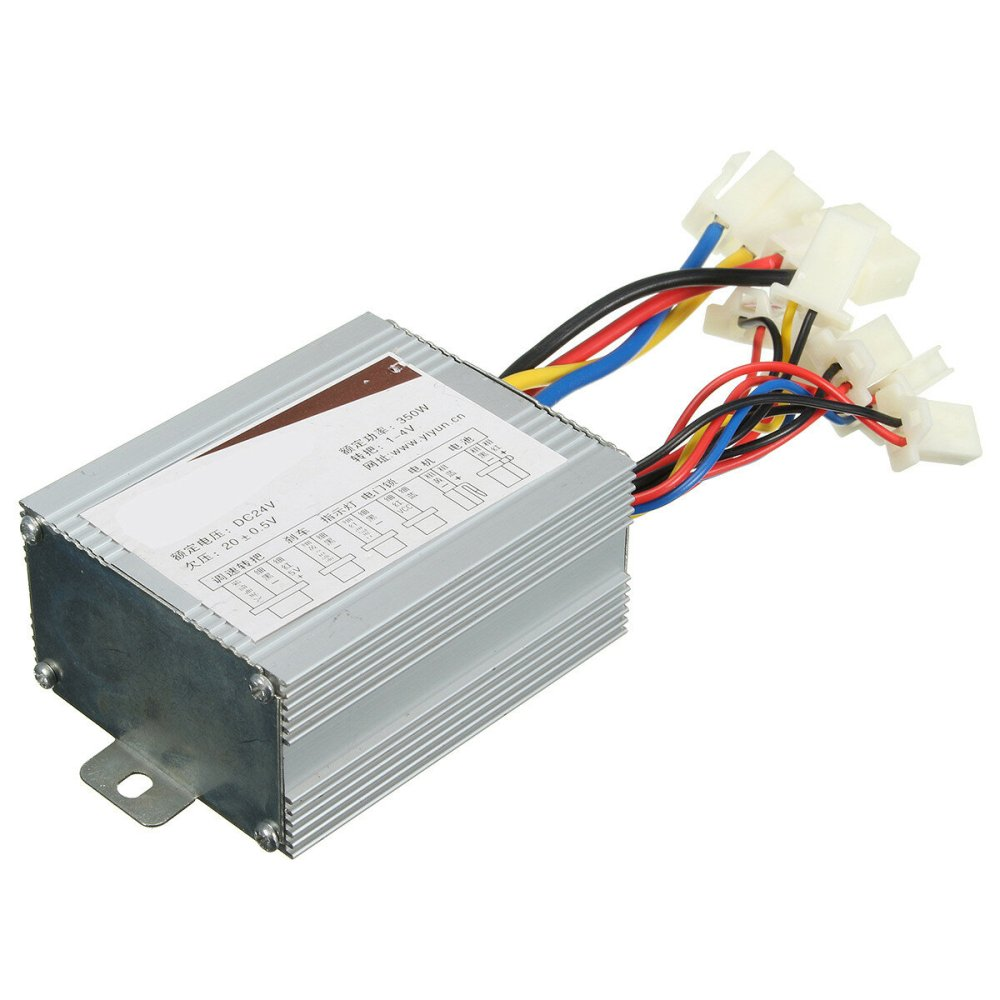 medium resolution of 24v 350w motor brush speed controller for electric bike bicycle scooter e bike