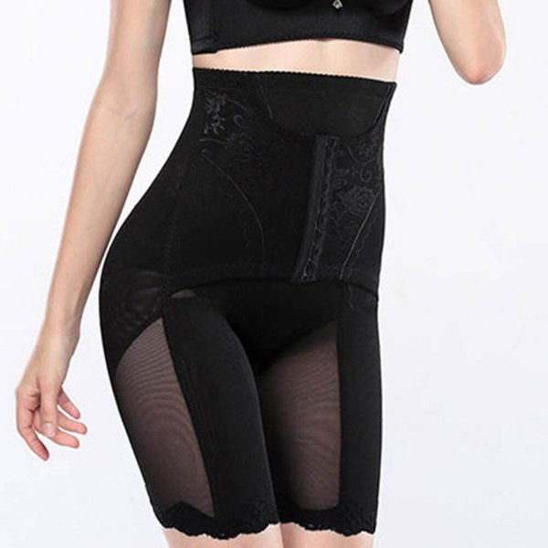 High Waist Front Buckle Open Crotch Breathable Shapewear Banggood
