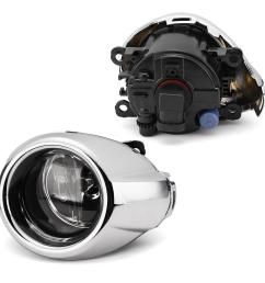 pair car front bumper fog lights with covers lamps wiring harness for ford focus 2012 2014 cod [ 1200 x 1200 Pixel ]