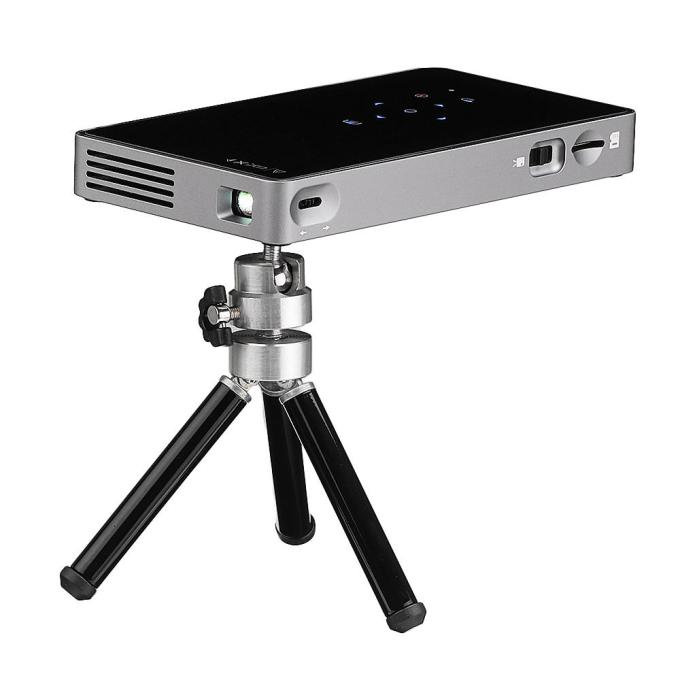 D5S Projector Android Wifi Portable Mini Outdoor Builtin Battery DLP Android 7.1 Smart Projector