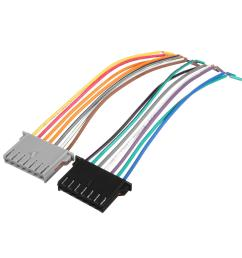 car stereo cd player wiring harness factory radio plug for chrysler dodge jeep [ 1200 x 1200 Pixel ]