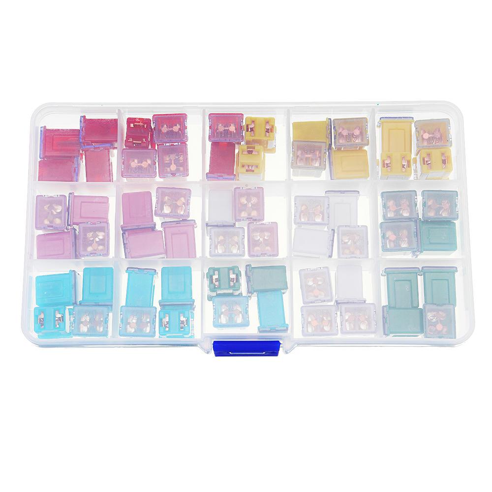 medium resolution of 60pcs japanese 20 25 30 40 50 60a pal female fuse box for nissan mazda cod