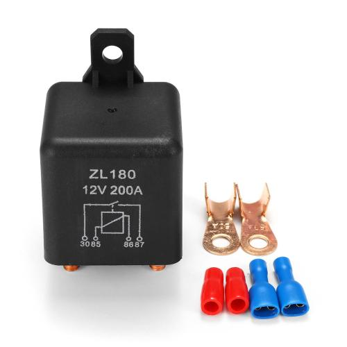 small resolution of 12v 200a heavy duty split charge starter relay car truck boat van with teminal