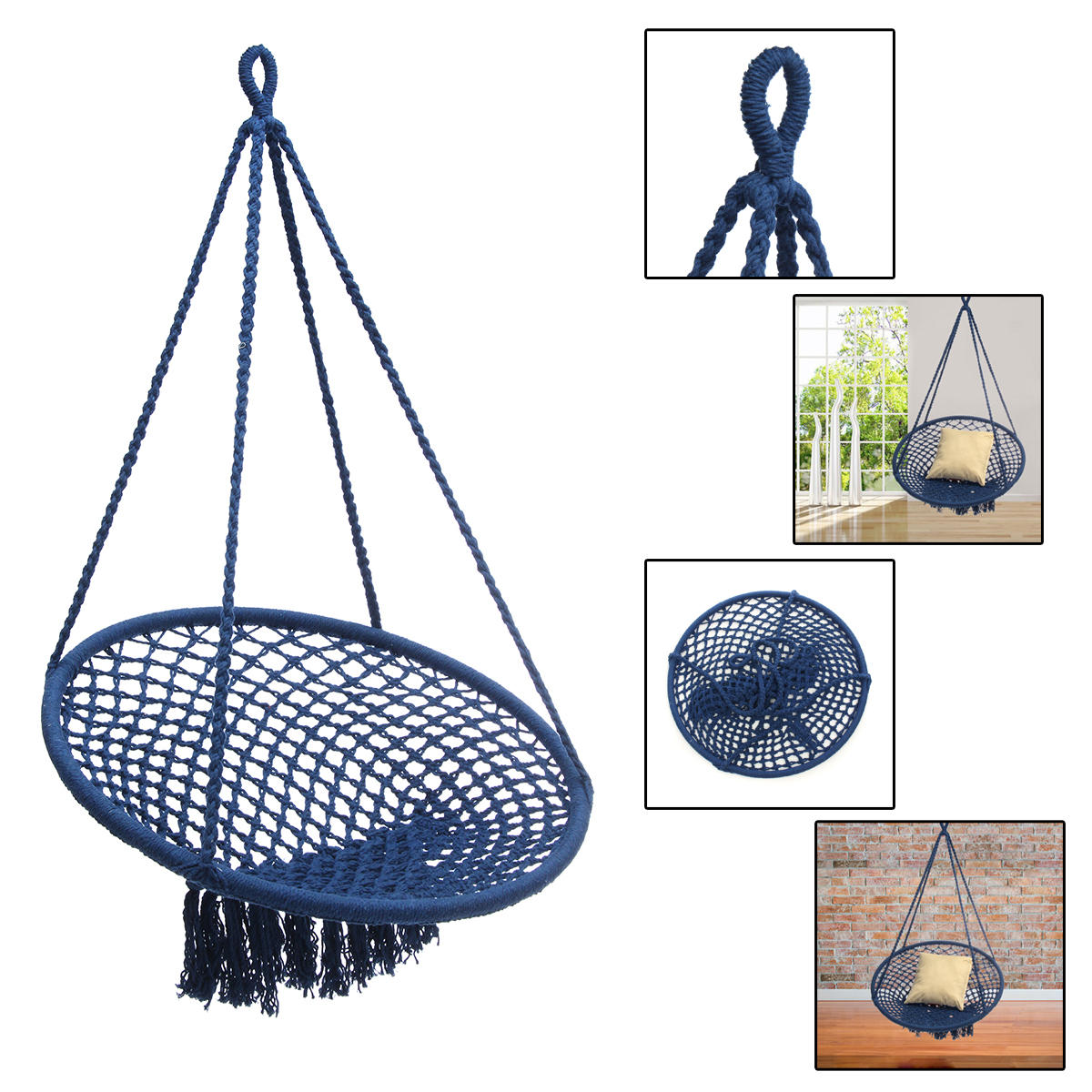 hanging zone chair cover rentals memphis outdoor mesh cotton swing hammock camping