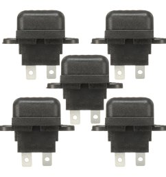 5pcs 30a amp auto blade standard fuse holder box for car boat truck with cover [ 1200 x 1200 Pixel ]