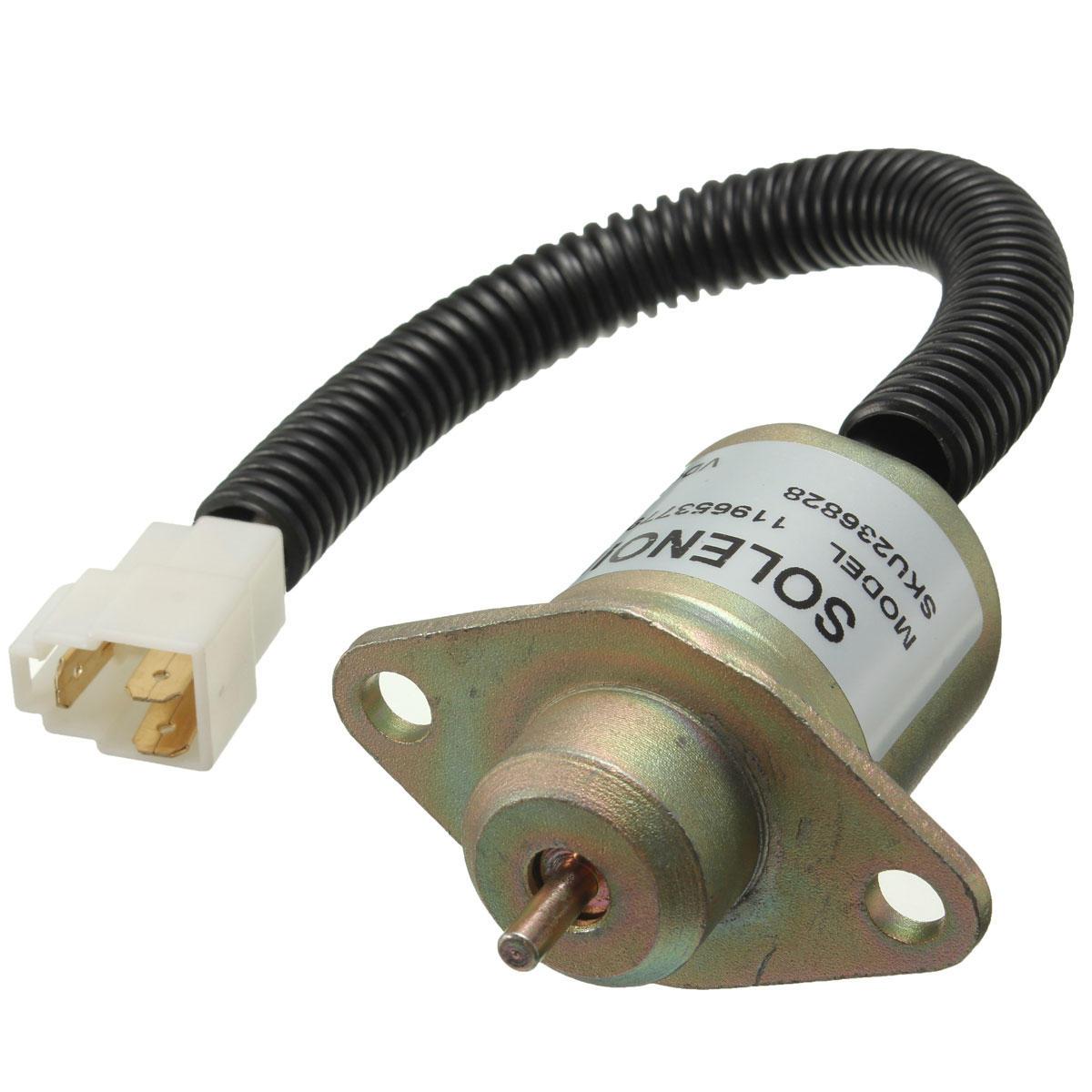 hight resolution of 12v fuel shutdown diesel shut off solenoid for yanmar 4tnv94l sfn 11965377950