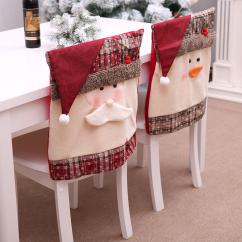 Chair Covers Decorations Rocking Dildo Santa Claus Embroidered Back Cover For Christmas Kitchen Customer Also Viewed