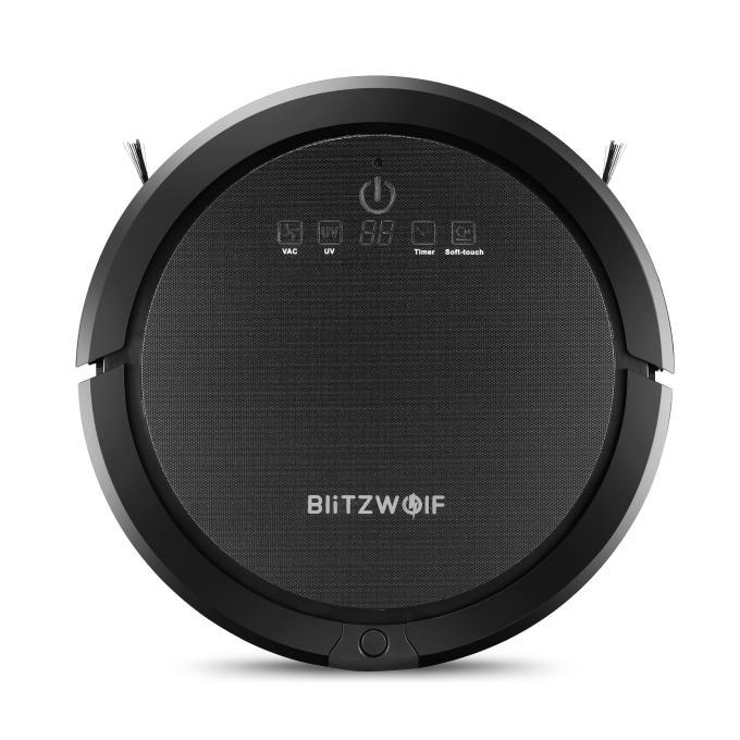 BlitzWolf® BWXRC600 Ultrasonic Smart Robot Vacuum Cleaner