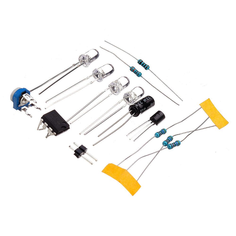 lm358 breathing light parts electronic diy blue led flash