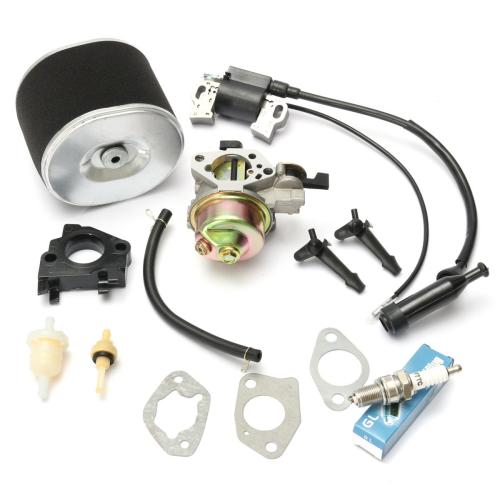 small resolution of carburetor with ignition coil spark plug air filter for honda gx390 gx340 cod