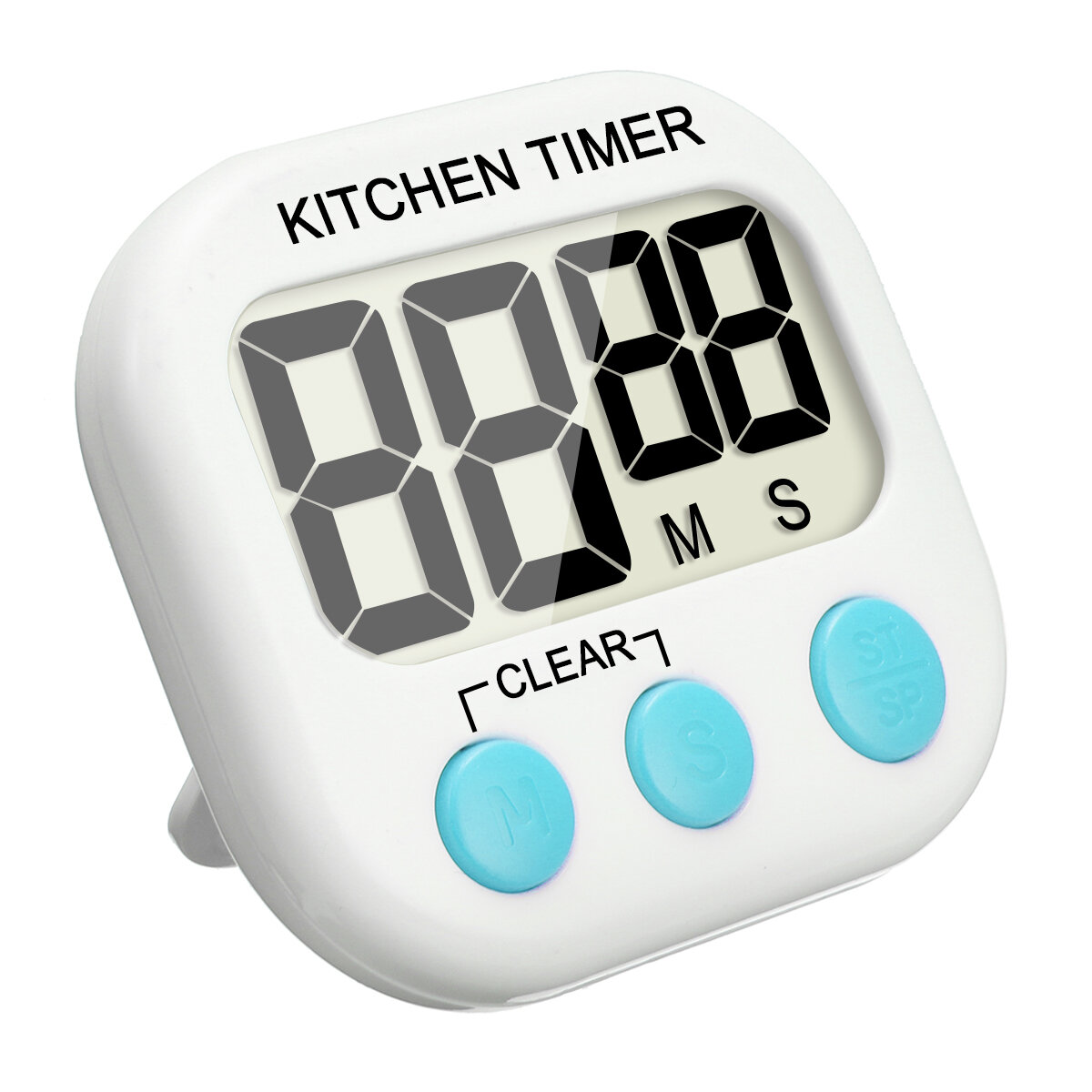 kitchen timers soap dispenser for sink eivotor hx103 2 lcd electronic timer digital reminder