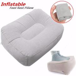 Inflatable Chair Stool Anti Gravity Sex Portable Outdooors Plush Pneumatic Footrest Sofa Cushion Home Decor Cod