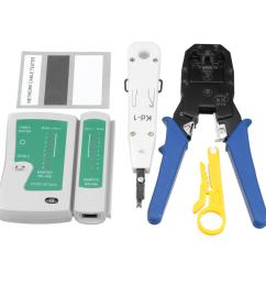network ethernet lan rj11 rj45 cat5 cat6 cable tester wire tracker tool kit cod [ 1200 x 1200 Pixel ]