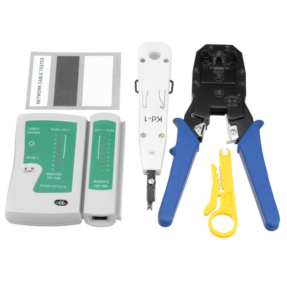medium resolution of network ethernet lan rj11 rj45 cat5 cat6 cable tester wire tracker tool kit cod