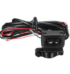 winch rocker switch handlebar control line warn atv utv accessories [ 1200 x 1200 Pixel ]