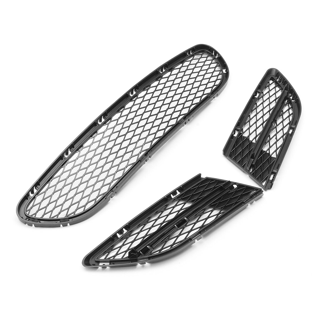 New Front Bumper Vents Front Lower Grille Grill Net For