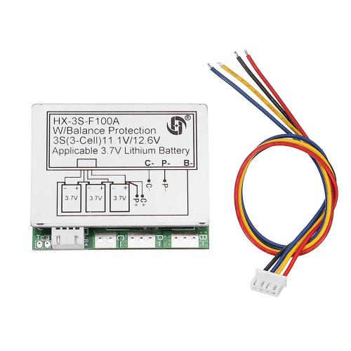small resolution of 3s 11 1v high current 100a 3 7v lithium battery protection board wiring a 400 amp service 11 1v wiring diagram