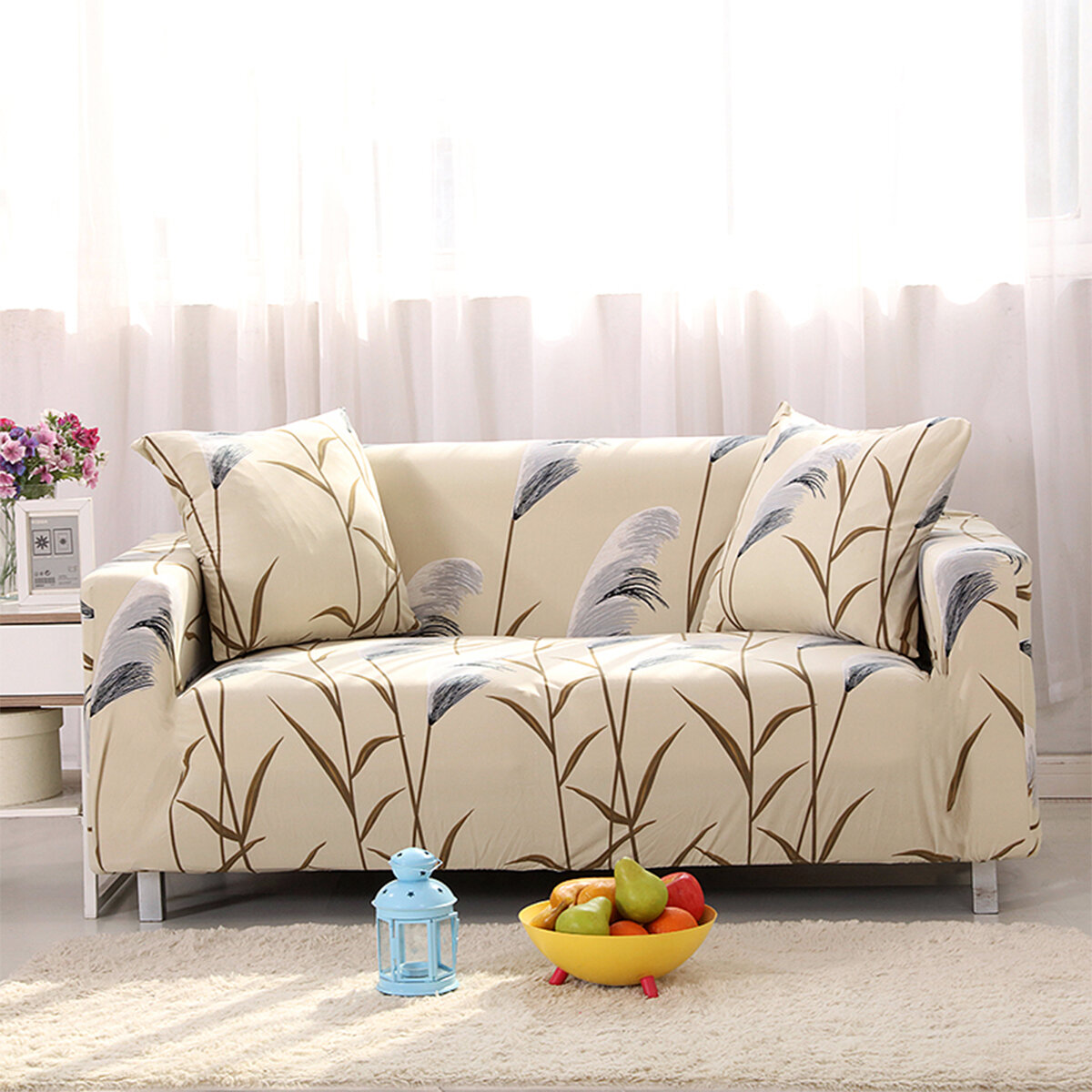 Chair Throw Covers Au Ship Stretch Sofa Seater Protector Washable Couch Cover Slipcover Decor Chair Covers