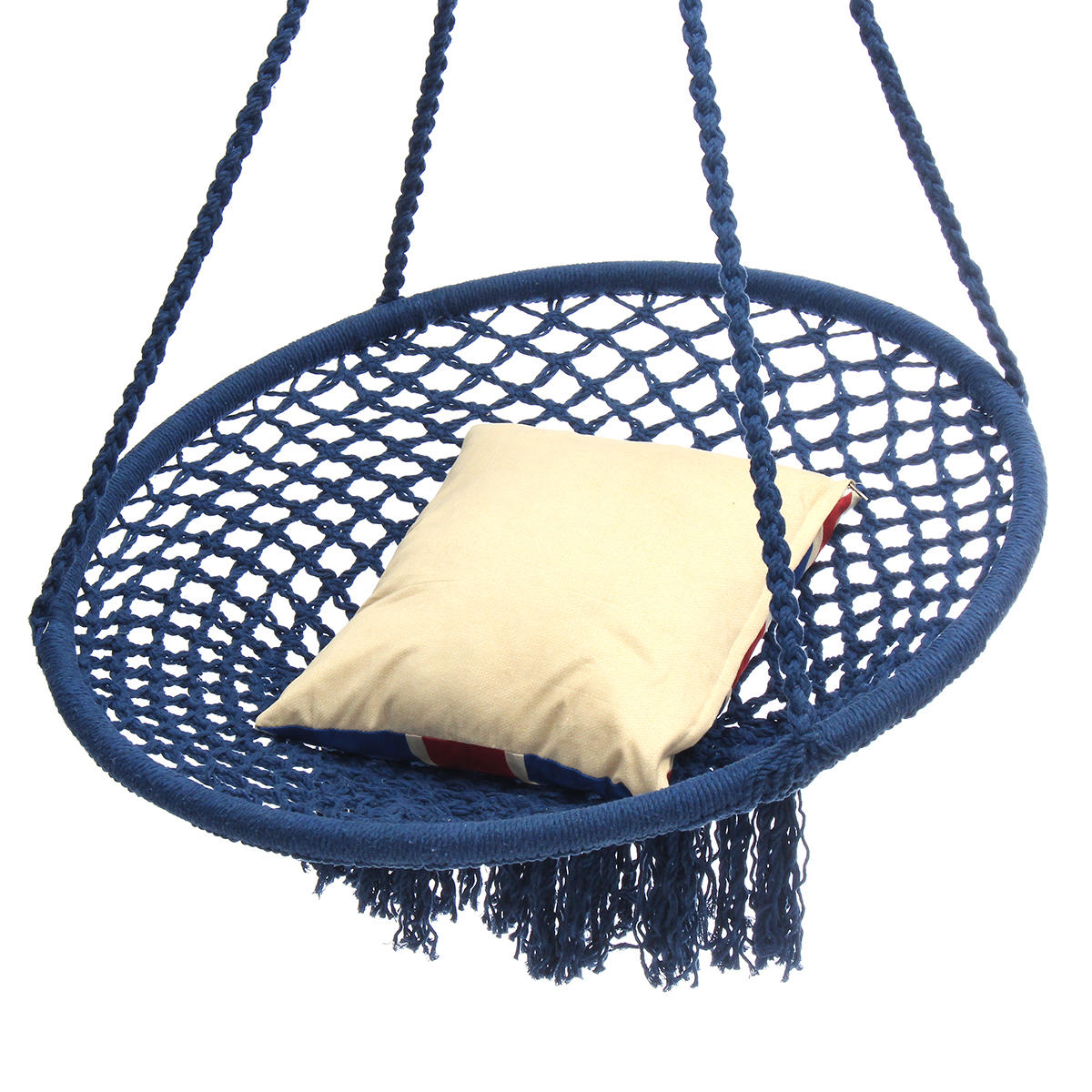 hanging zone chair baby room outdoor mesh cotton swing hammock camping