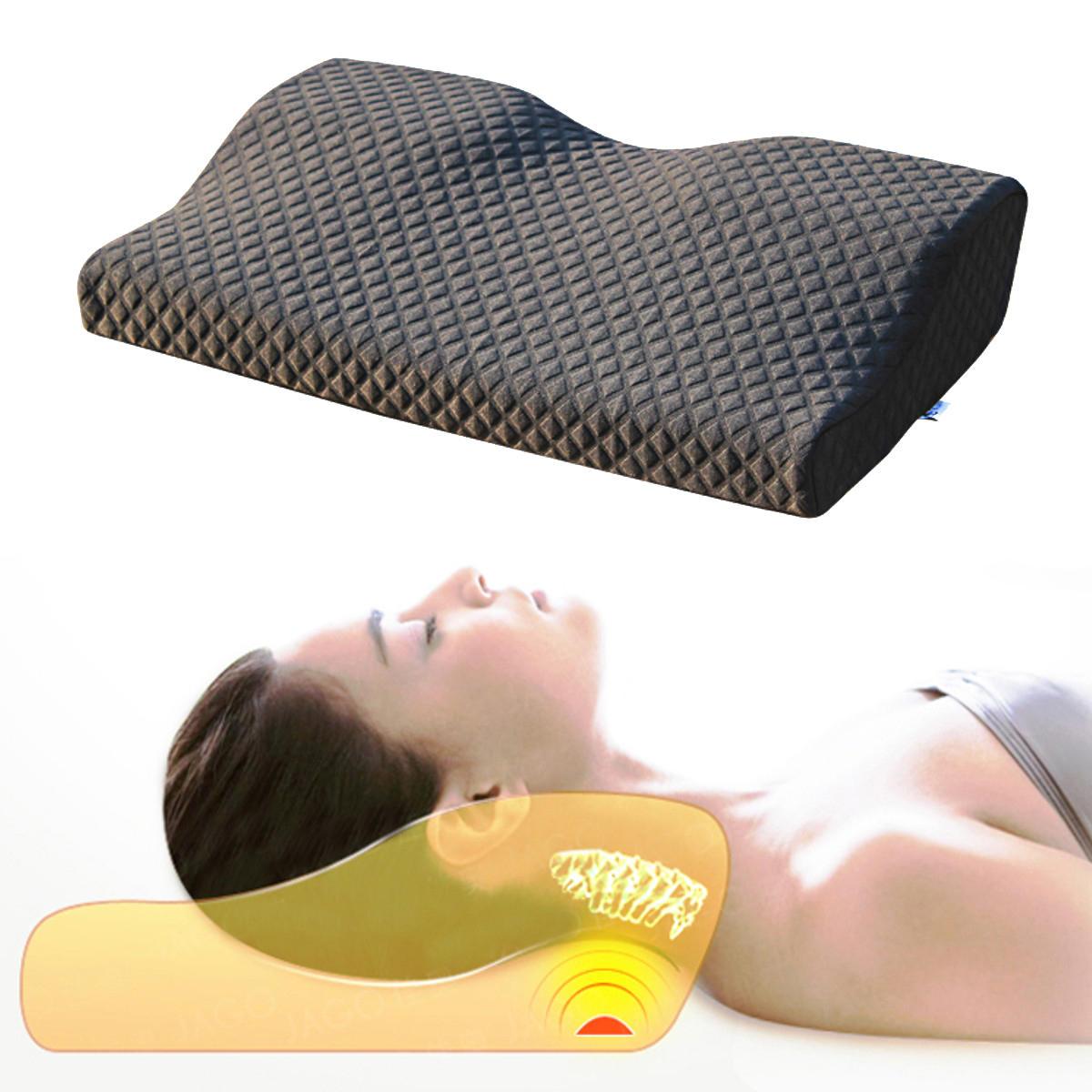 memory foam pillow cervical spondylosis neck pain relief