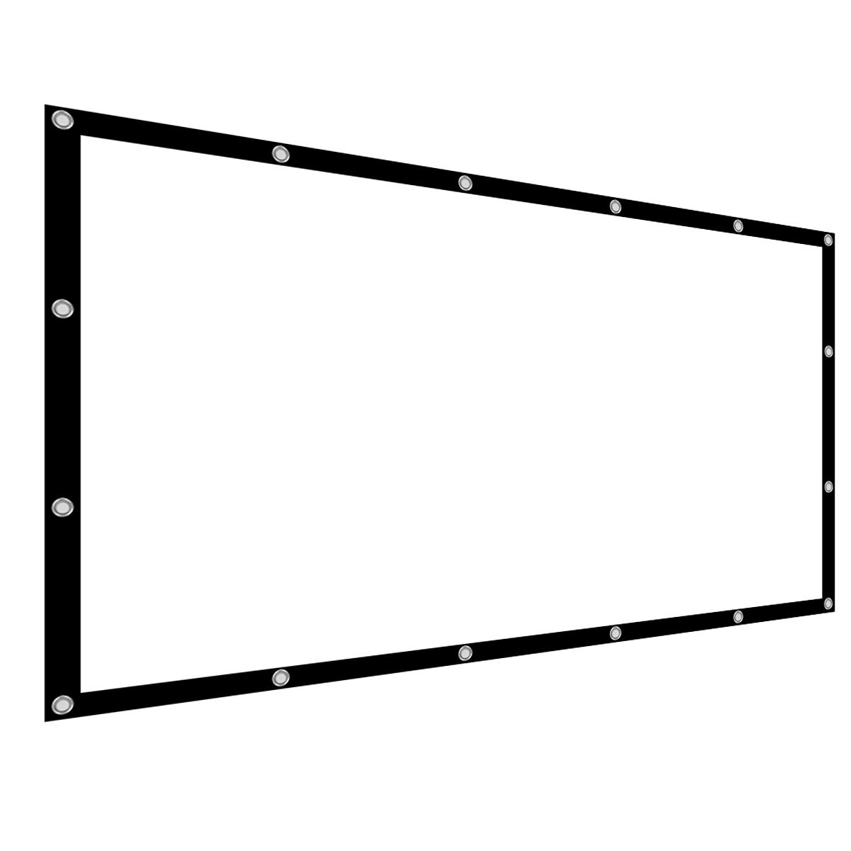 60/77/100/120/136 inch 16:9 projector screen home