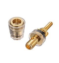copper crystal audio speaker amplifier terminal for 4mm banana plug sale banggood com sold out [ 1200 x 1200 Pixel ]