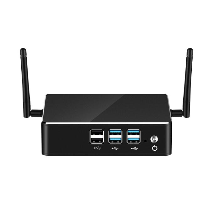 XCY Mini Pc X35 I78550U Quad 8GB+120GB/240GB/480GB HD Graphics 620 4K 300M WiFi Gigabit Ethernet HDMI VGA 8xUSB Compact HTPC 8GB+120GB