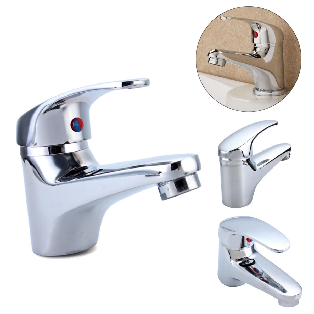 Bathroom Sink Faucets Brass Bathroom Sink Faucet Hot Cold Faucet