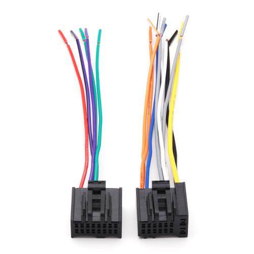small resolution of 2pcs car radio stereo speaker wiring harness plug cable for chevrolet 2005 2016 cod