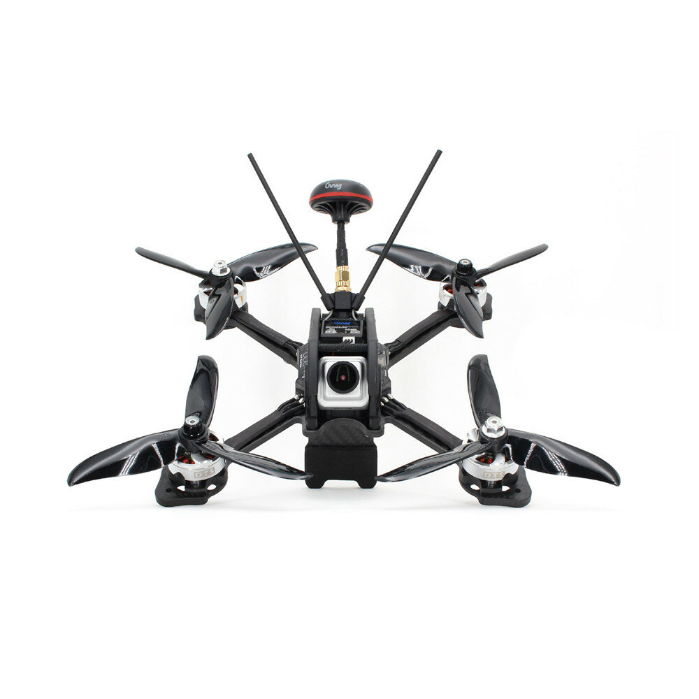 dts gt200 200mm rc fpv freestyle racing drone pnp omnibus