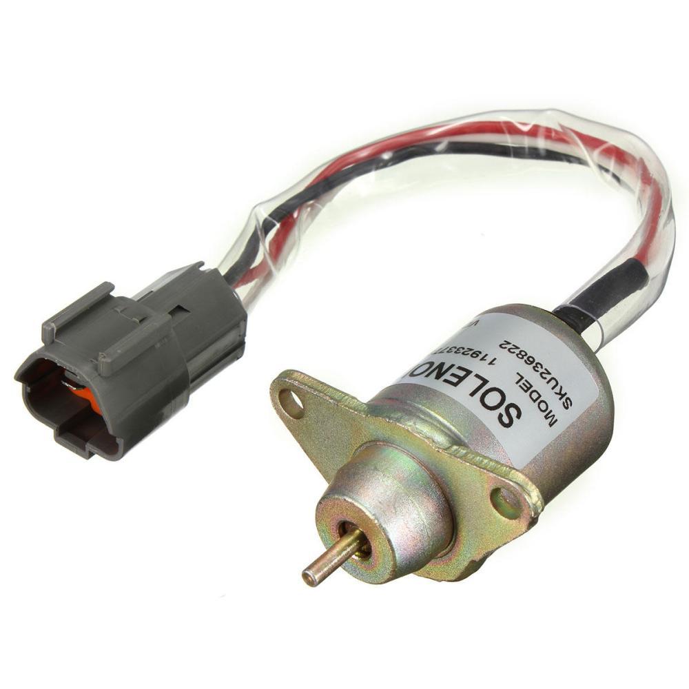 medium resolution of diesel fuel shut off stop solenoid 11923377932 for yanmar john deere tractor