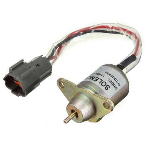 small resolution of diesel fuel shut off stop solenoid 11923377932 for yanmar john deere tractor