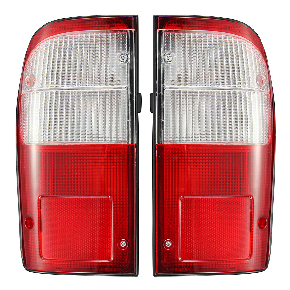 hight resolution of car left right rear tail light brake lamp with wire harness for toyota hilux mk4 d4d 1997 2006
