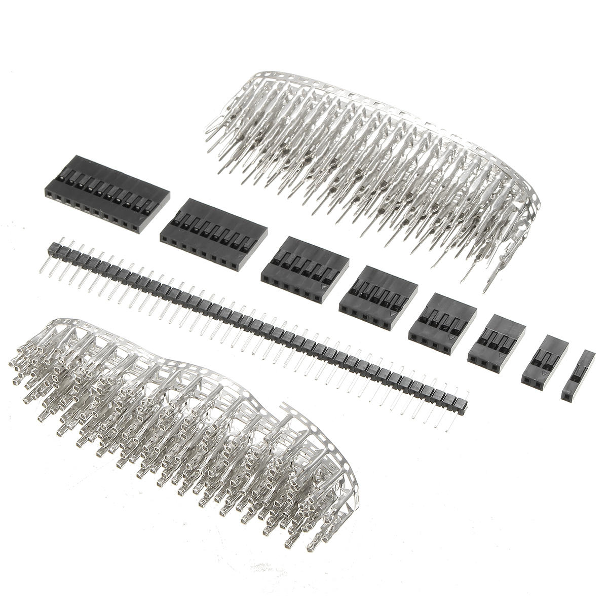 geekcreit® 1450pcs 2.54mm male female dupont wire jumper