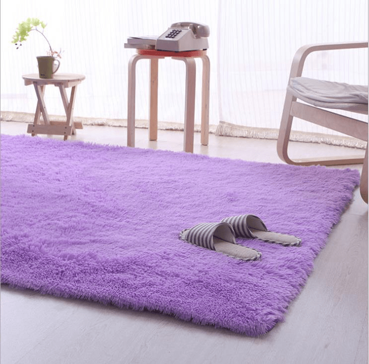 living room floor mats wood accent wall 80cm x 160cm purple soft fluffy anti skid shaggy area rug customer also viewed