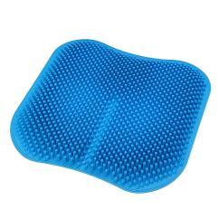 Massage Chair Pad For Car Fake Wood Adirondack Chairs 3d Seat Cushion Silicone Mat