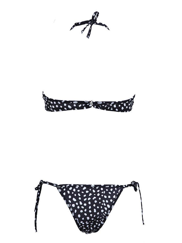 Shopee Plaza : Hot Sexy Zebra Snow Leopard Pattern Bikini