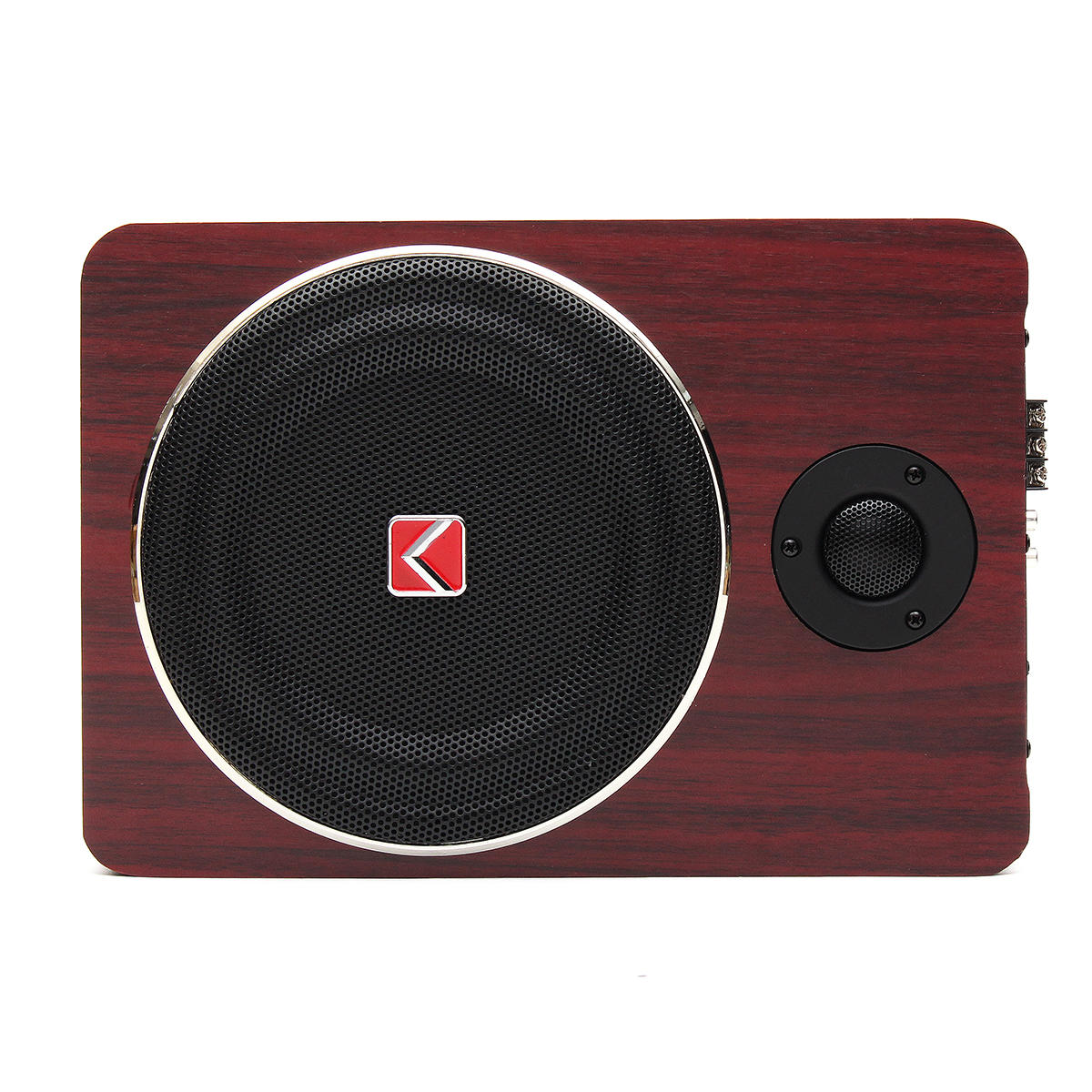 hight resolution of 600w 8 inch wooden ultra thin car stereo subwoofer car audio car speaker