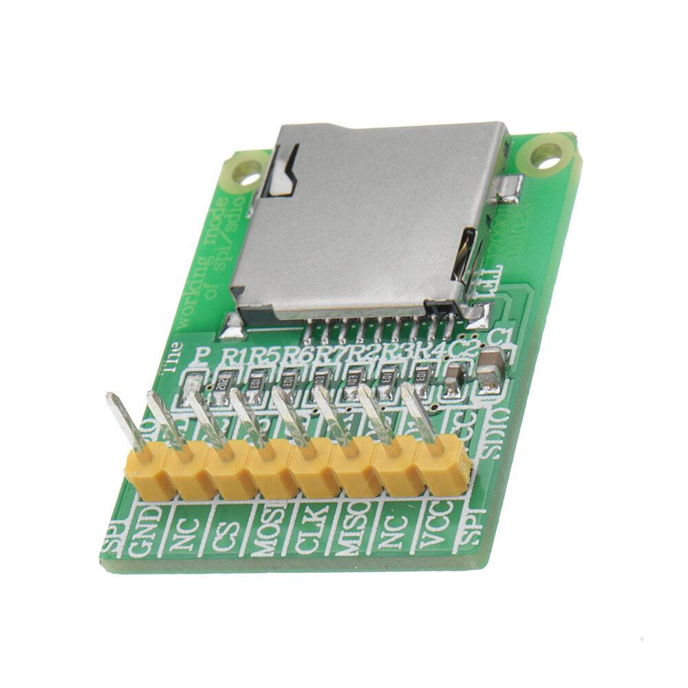 3.5v / 5v micro sd card module tf card reader sdio/spi interface mini tf card module Sale - Banggood.com