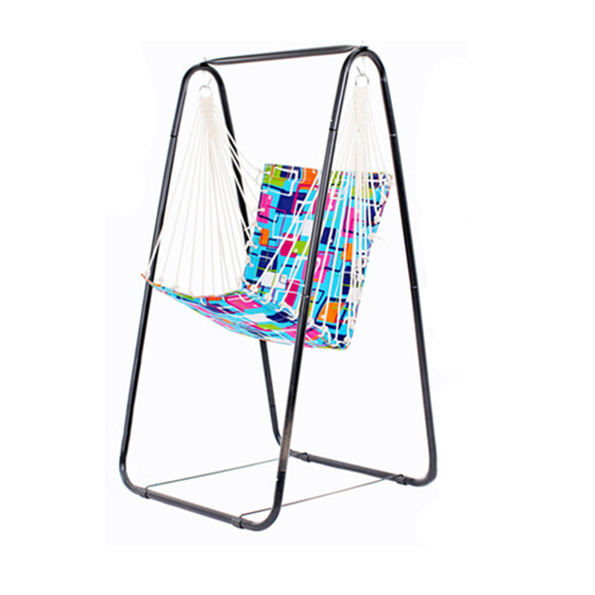 swing chair with stand kuwait floating pool lounge chairs hammock hanging leisure steel foot holder garden customer also viewed