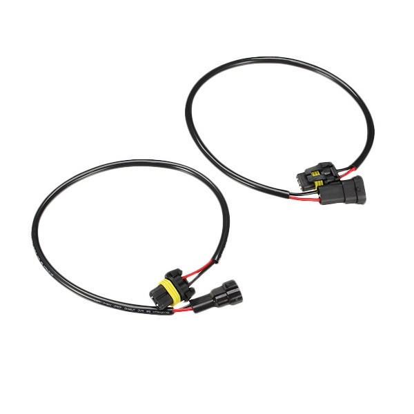 2pcs harness for h11 connector hid light headlight fog