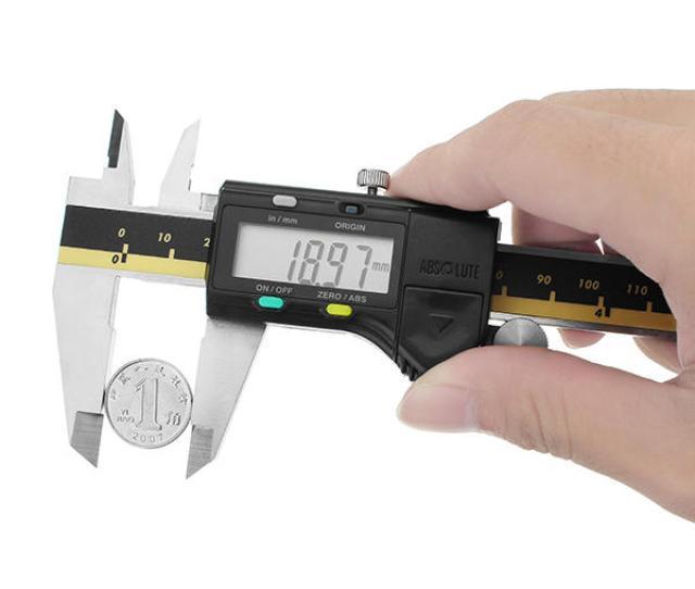 Daniu 6inch  01mm Digital Caliper Stainless Steel Electronic Vernier Calipers Cod