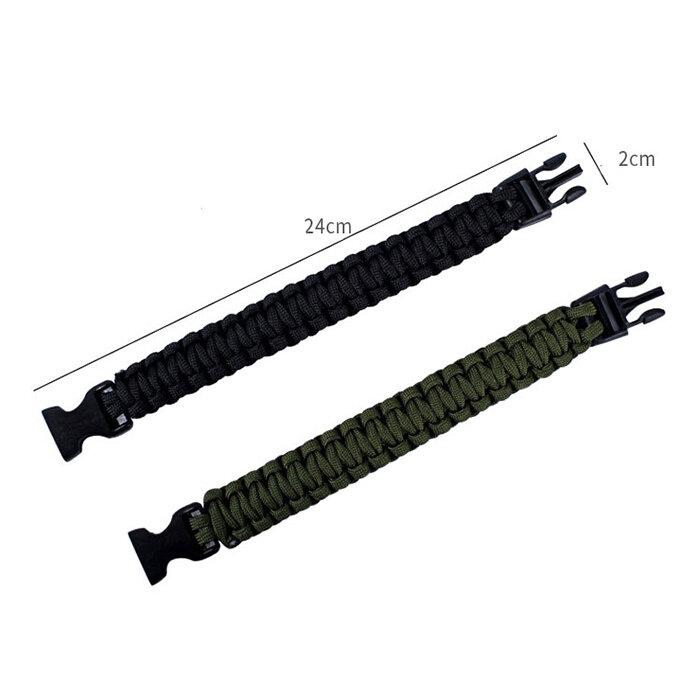 ipree® 4 in 1 edc survival bracelet emergency paracord