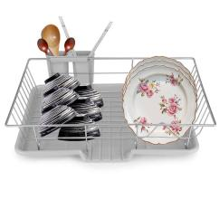 Kitchen Drying Rack 24 Sink Stainless Steel Dish Cup Plate Utensil Holder Tray Customer Also Viewed