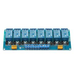 bestep 8 channel 24v relay module high and low level trigger for arduino cod [ 1000 x 1000 Pixel ]
