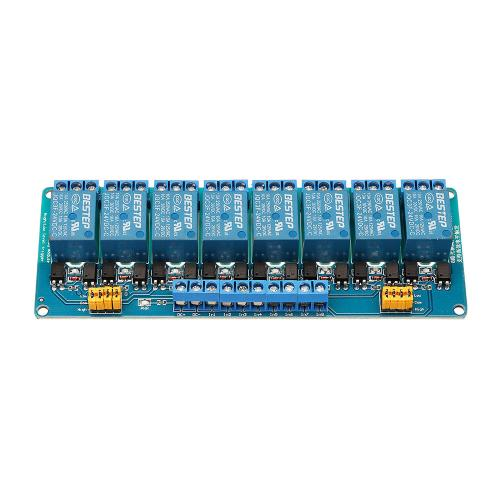small resolution of bestep 8 channel 24v relay module high and low level trigger for arduino cod